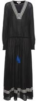 Lemlem Kafa Embroidered Cotton Maxi Dress