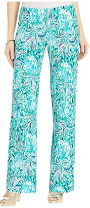 Lilly Pulitzer Georgia May Palazzo Pants (Emerald Isle Pineapple of My Eye) Women's Casual Pants