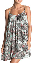 Roxy Windy Fly Away Tropical-Print Dress Cover-Up