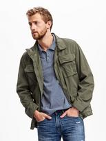 Old Navy Garment-Dyed Military Jacket for Men