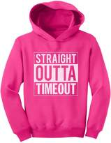 TeeStars - Straight Outta Timeout Funny Toddler Hoodie
