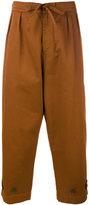 Paura 'Tino' cropped trousers - men - Cotton - M
