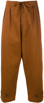 Paura 'Tino' cropped trousers - men - Cotton - XS
