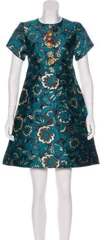 Dolce & Gabbana 2017 Brocade Dress