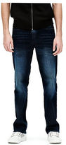 GUESS Men's Crescent Straight Jeans