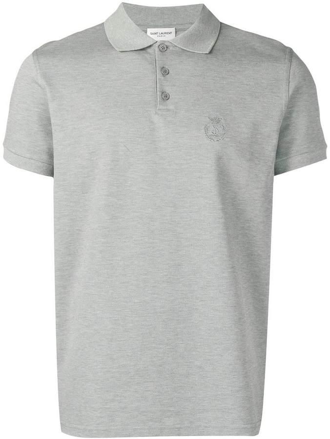 c36ac9247cf2c4 Saint Laurent Men s Polos - ShopStyle