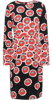 Diane von Furstenberg Floral-print Stretch-crepe Dress