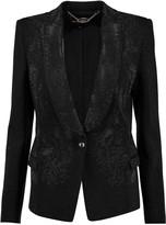Just Cavalli Studded cady blazer