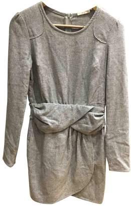 By Zoé \N Grey Wool Dress for Women