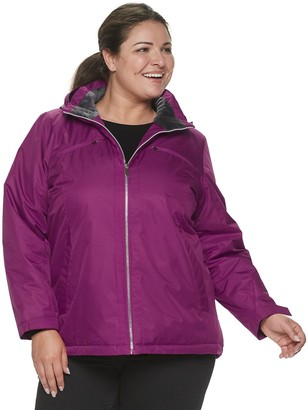 ZeroXposur Plus Size Insulated Jacket