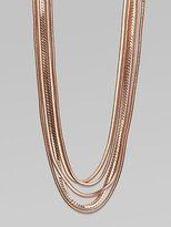 Multi Strand Chain Necklace