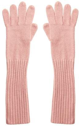 Love & Lore LOVE AND LORE RIBBED GLOVE ROSY PINK