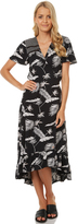 Volcom Diamond Tropic Wrap Midi Black