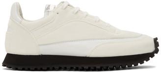 Comme des Garçons Comme des Garçons White Spalwart Edition Tempo Low Sneakers