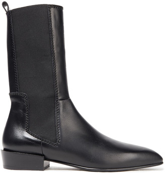 3.1 Phillip Lim Dree Tall Leather Ankle Boots