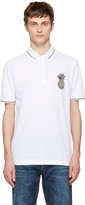 Dolce & Gabbana White Pineapple Polo