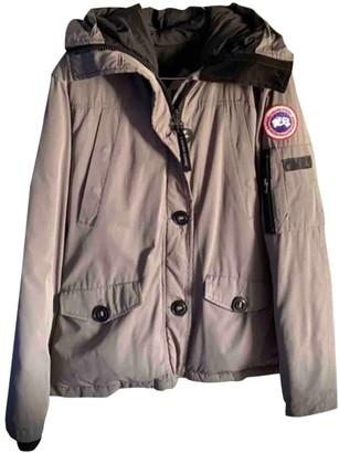 Canada Goose Montebello Grey Cotton Jackets