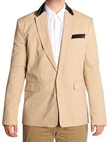 Versace Men's EC3GHB554-EHIR00-E700 Tonal Animal Jacquard Jacket