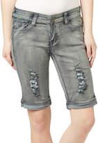 Be Girl be-girl Women's Denim Shorts black - Black Blush Rip Shorts - Women