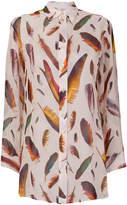 Paul Smith feather print shirt