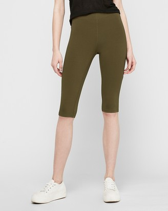 Express High Waisted Sexy Stretch Cropped Leggings