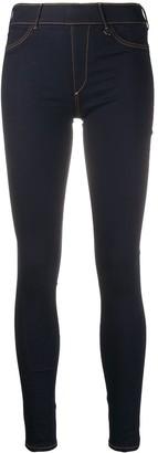 True Religion Contrast Stitch Skinny Trousers