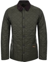 Barbour Liddesdale Quilted Jacket Green