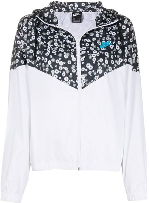 Nike Woven Floral Jacket
