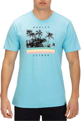 Hurley Men Palm Retro Graphic T-Shirt