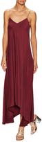 Tibi Sandwashed Silk High Low Dress