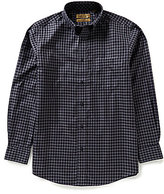 Roundtree & Yorke Gold Label Big & Tall Non-Iron Check Sportshirt