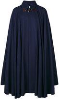 Vivienne Westwood Man - long flared cape - men - Cotton/Polyamide/Viscose/Virgin Wool - One Size