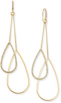 ABS by Allen Schwartz Gold-Tone Double-Teardrop Earrings