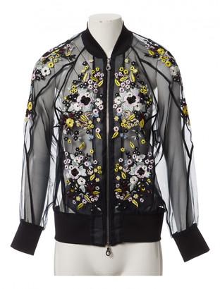 Erdem Black Silk Jackets