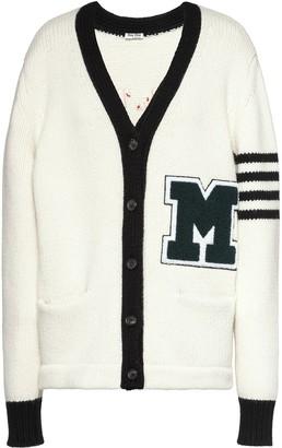 Miu Miu Varsity-Style Cardigan
