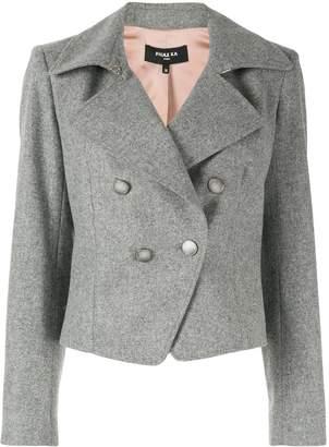 Paule Ka broadcloth cropped blazer