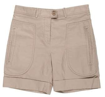 Stella McCartney Mid-Rise Mini Shorts