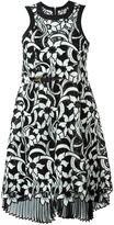 Sacai 'Lily' lace dress - women - Cotton/Nylon/Polyester - 3