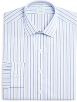 Brooks Brothers Non Iron Stripe Milano Regular Fit Dress Shirt - 100% Bloomingdale's Exclusive