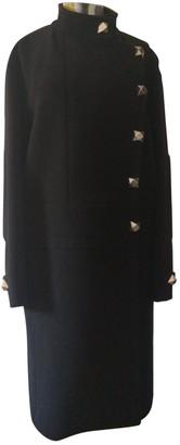 Giles Black Wool Coats
