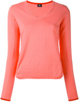 Paul Smith V-neck jumper - women - Cotton - S