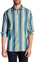Tommy Bahama Surf To Sydney Striped Long Sleeve Regular Fit Shirt
