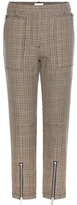 3.1 Phillip Lim Houndstooth Knitted Wool Trousers