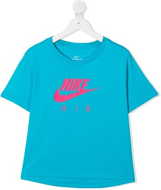 Nike Kids TEEN logo print T-shirt
