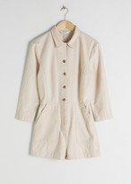 And other stories Cotton Blend Boilersuit