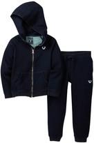 True Religion Indigo Mineral Hoodie & Pant Set (Toddler Boys)