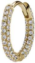 "Maria Tash 5/16"" Diamond Five Row Pave Earring"