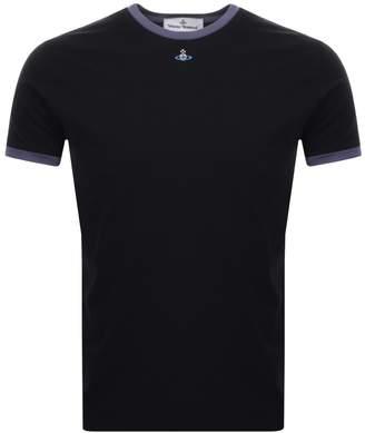 Vivienne Westwood Small Orb Ringer T Shirt Black