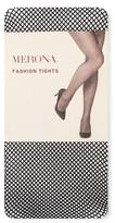 Merona Women's Fashion Tights Black Micro Fishnet Collection