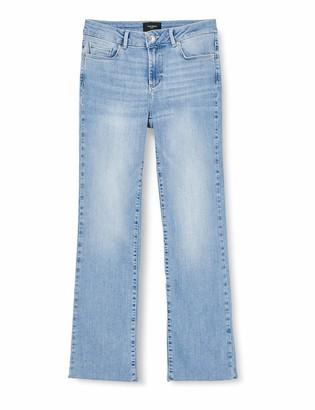 Vero Moda Women's VMSHEILA MR Kick Flare Jeans BA3121